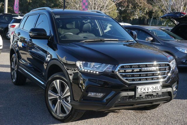 Used Haval H6 Lux DCT Phillip, 2020 Haval H6 Lux DCT Black 6 Speed Sports Automatic Dual Clutch Wagon