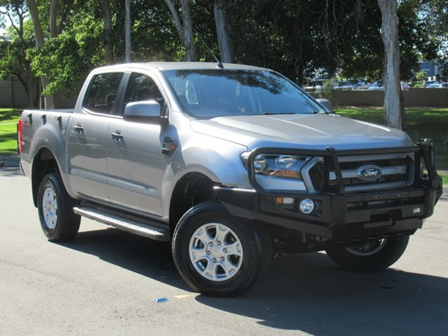 Used Ford Ranger PX MkII XLS Double Cab, 2016 Ford Ranger PX MkII XLS Double Cab Silver 6 Speed Sports Automatic Utility