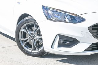 2019 Ford Focus SA 2019.75MY ST-Line White 8 Speed Automatic Wagon.