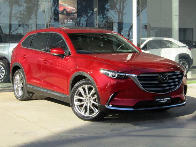 Used Mazda CX-9 TC Azami SKYACTIV-Drive Ravenhall, 2017 Mazda CX-9 TC Azami SKYACTIV-Drive Red 6 Speed Sports Automatic Wagon