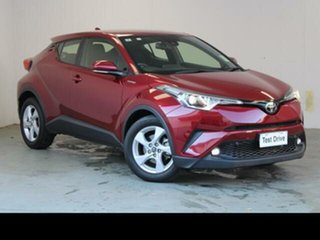 2018 Toyota C-HR NGX10R Update (2WD) Atomic Rush Continuous Variable Wagon.