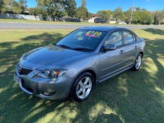 2006 Mazda 3 BK10F1 Maxx Grey 4 Speed Sports Automatic Sedan.