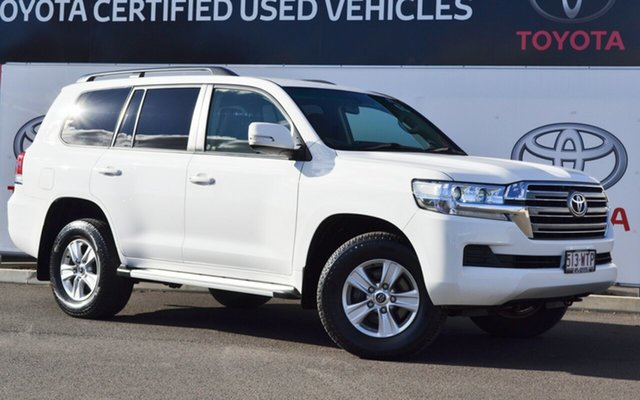 Pre-Owned Toyota Landcruiser VDJ200R MY16 GXL (4x4) Warwick, 2016 Toyota Landcruiser VDJ200R MY16 GXL (4x4) Glacier White 6 Speed Automatic Wagon