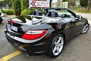 2013 Mercedes-Benz SLK-Class R172 SLK250 7G-Tronic + Black 7 Speed Sports Automatic Roadster.