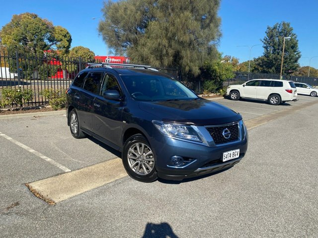 Used Nissan Pathfinder R52 MY15 ST X-tronic 4WD Mile End, 2015 Nissan Pathfinder R52 MY15 ST X-tronic 4WD Blue 1 Speed Constant Variable Wagon