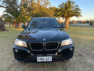 2012 BMW X3 F25 MY0412 xDrive20d Steptronic Black 8 Speed Automatic Wagon.