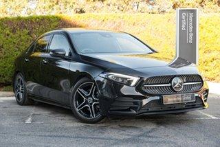 2019 Mercedes-Benz A-Class V177 A200 DCT Cosmos Black 7 Speed Sports Automatic Dual Clutch Sedan.