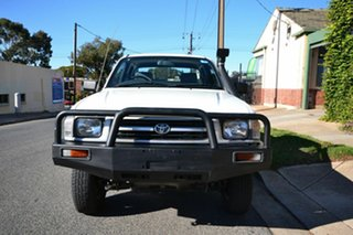 1998 Toyota Hilux LN172R (4x4) White 5 Speed Manual 4x4 X Cab Cab Chassis.