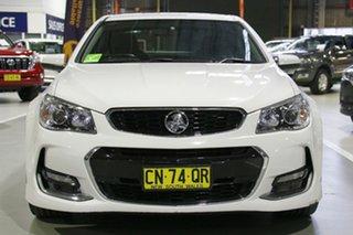 2017 Holden Commodore VF II MY17 SV6 Heron White 6 Speed Sports Automatic Sedan