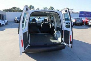 2011 Volkswagen Caddy 2KN MY11 TDI250 Maxi DSG White 7 Speed Sports Automatic Dual Clutch Van.