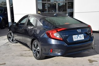 2017 Honda Civic 10th Gen MY17 VTi-L Blue 1 Speed Constant Variable Sedan.