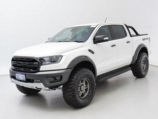 2019 Ford Ranger PX MkIII MY19 Raptor 2.0 (4x4) White 10 Speed Automatic Double Cab Pick Up.