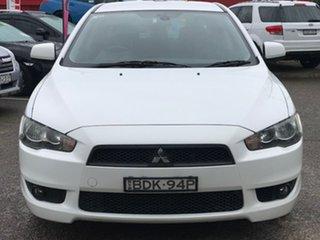 2007 Mitsubishi Lancer CJ MY08 VR White 5 Speed Manual Sedan