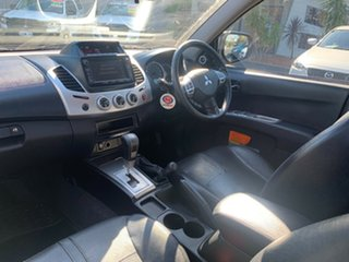 2015 Mitsubishi Triton MN MY15 GLX-R Double Cab Brown 5 Speed Sports Automatic Utility