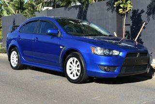 2009 Mitsubishi Lancer CJ MY10 VR Blue 5 Speed Manual Sedan