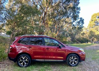 2013 Subaru Forester S4 MY14 XT Lineartronic AWD Premium Burgundy 8 Speed Constant Variable Wagon.