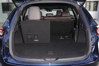 2020 Mazda CX-8 KG4W2A Asaki SKYACTIV-Drive i-ACTIV AWD Deep Crystal Blue 6 Speed Sports Automatic