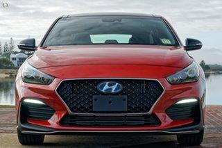 2021 Hyundai i30 PD.V4 MY21 N Line D-CT Premium Orange 7 Speed Sports Automatic Dual Clutch.