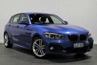 2016 BMW 1 Series F20 LCI 125i M Sport Blue 8 Speed Sports Automatic Hatchback.