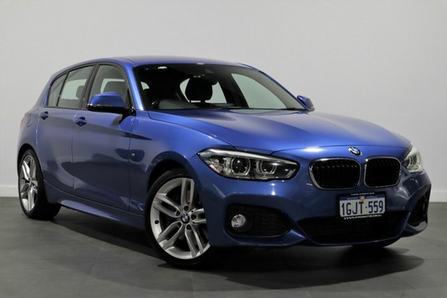 Used BMW 1 Series F20 LCI 125i M Sport Bayswater, 2016 BMW 1 Series F20 LCI 125i M Sport Blue 8 Speed Sports Automatic Hatchback