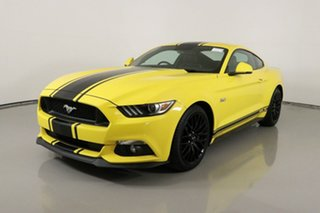 2017 Ford Mustang FM MY17 Fastback GT 5.0 V8 Triple Yellow 6 Speed Automatic Coupe.