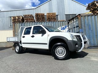 2007 Holden Rodeo RA MY07 LX Crew Cab 4x2 White 4 Speed Automatic Utility.