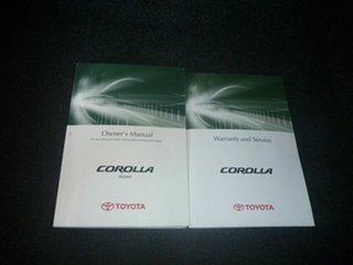 2010 Toyota Corolla ZRE152R MY10 Ascent White 4 Speed Automatic Sedan.