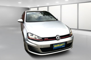 2014 Volkswagen Golf VII MY14 GTI DSG Silver 6 Speed Sports Automatic Dual Clutch Hatchback.