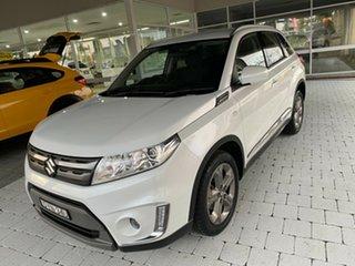 2018 Suzuki Vitara RT-S White Sports Automatic Wagon.