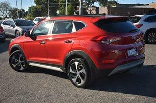 2018 Hyundai Tucson TLE2 MY18 Highlander D-CT AWD Red 7 Speed Sports Automatic Dual Clutch Wagon.