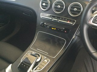 2017 Mercedes-Benz GLC-Class C253 GLC250 d Coupe 9G-Tronic 4MATIC Silver 9 Speed Sports Automatic