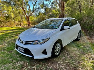 2015 Toyota Corolla ZRE182R Ascent S-CVT Glacier White 7 Speed Constant Variable Hatchback