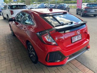 2017 Honda Civic 10th Gen MY17 VTi-S Rallye Red 1 Speed Constant Variable Hatchback.