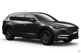 2021 Mazda CX-8 KG2WLA Sport SKYACTIV-Drive FWD Grey 6 Speed Sports Automatic Wagon