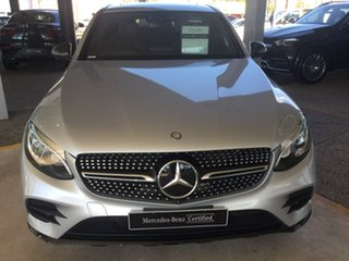 2017 Mercedes-Benz GLC-Class C253 GLC250 d Coupe 9G-Tronic 4MATIC Silver 9 Speed Sports Automatic.