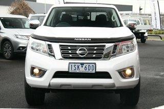 2020 Nissan Navara D23 S4 MY20 RX 4x2 White 7 Speed Sports Automatic Utility