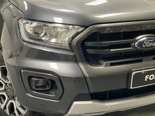 2019 Ford Ranger PX MkIII 2019.00MY Wildtrak Grey 6 Speed Sports Automatic Double Cab Pick Up.