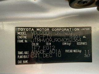 2010 Toyota Landcruiser VDJ200R 09 Upgrade GXL (4x4) 6 Speed Automatic Wagon