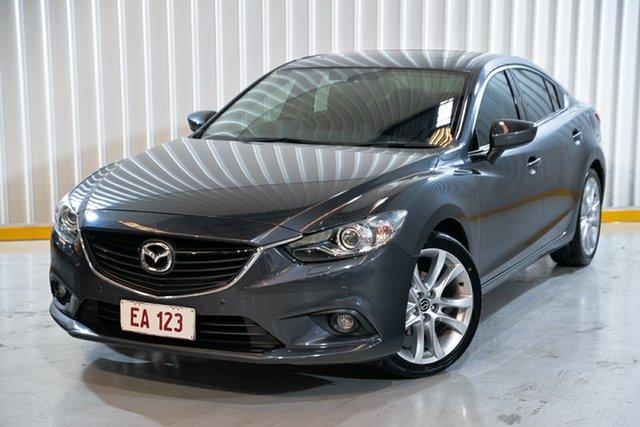 Used Mazda 6 GJ1031 GT SKYACTIV-Drive Hendra, 2013 Mazda 6 GJ1031 GT SKYACTIV-Drive Grey 6 Speed Sports Automatic Sedan