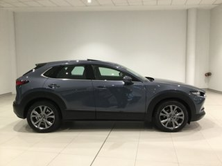 2020 Mazda CX-30 DM4WLA G25 SKYACTIV-Drive i-ACTIV AWD Astina Polymetal Grey 6 Speed.