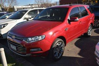 2011 Ford Territory SZ Titanium Seq Sport Shift Red 6 Speed Sports Automatic Wagon.