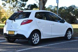 2014 Mazda 2 DE10Y2 MY14 Neo Sport White 4 Speed Automatic Hatchback