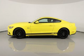 2017 Ford Mustang FM MY17 Fastback GT 5.0 V8 Triple Yellow 6 Speed Automatic Coupe