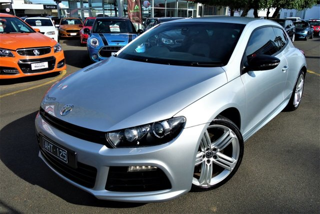 Used Volkswagen Scirocco 1S MY13 R Coupe DSG Seaford, 2012 Volkswagen Scirocco 1S MY13 R Coupe DSG Silver 6 Speed Sports Automatic Dual Clutch Hatchback