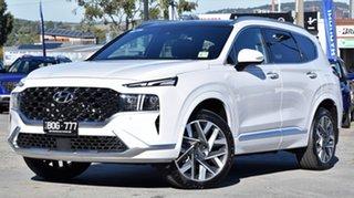 2021 Hyundai Santa Fe Tm.v3 MY21 Highlander DCT Glacier White 8 Speed Sports Automatic Dual Clutch.