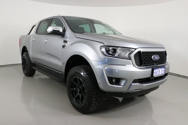 Used Ford Ranger PX MkIII MY21.25 XLT 3.2 (4x4) Bentley, 2021 Ford Ranger PX MkIII MY21.25 XLT 3.2 (4x4) Silver 6 Speed Automatic Double Cab Pick Up