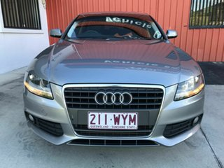 2009 Audi A4 B8 8K MY10 Multitronic Silver 8 Speed Constant Variable Sedan.