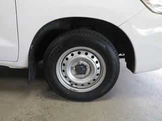 2012 Toyota Hilux KUN16R MY12 SR Double Cab 4x2 White 5 Speed Manual Utility
