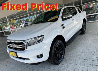 2018 Ford Ranger PX MkIII MY19 XLT White 6 Speed Sports Automatic Double Cab Pick Up.