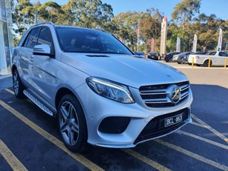 2018 Mercedes-Benz GLE-Class W166 MY808+058 GLE250 d 9G-Tronic 4MATIC Silver 9 Speed.